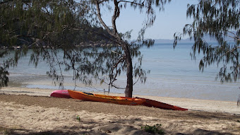 Chilling out on Magnetic Island...