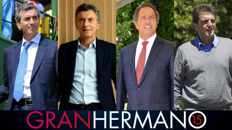 precandidatos a presidente en Gran Hermano 2015