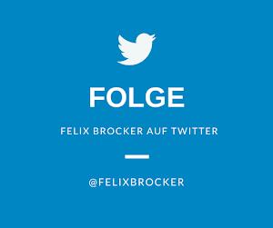 Folge Felix Brocker auf Twitter