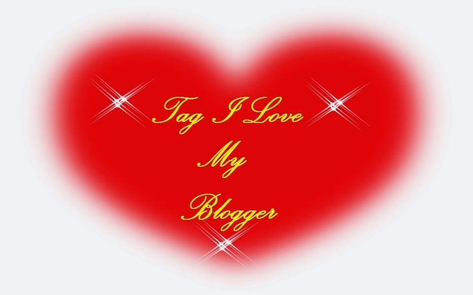 selo da tag I Love my blogger