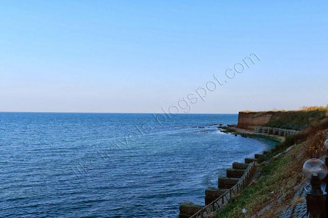 View from Yanitza's beach restaurant