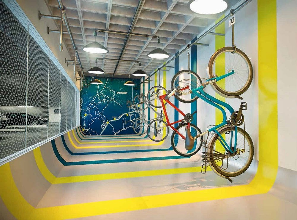 D´Azur Jaguaribe Salvador - bicicletário