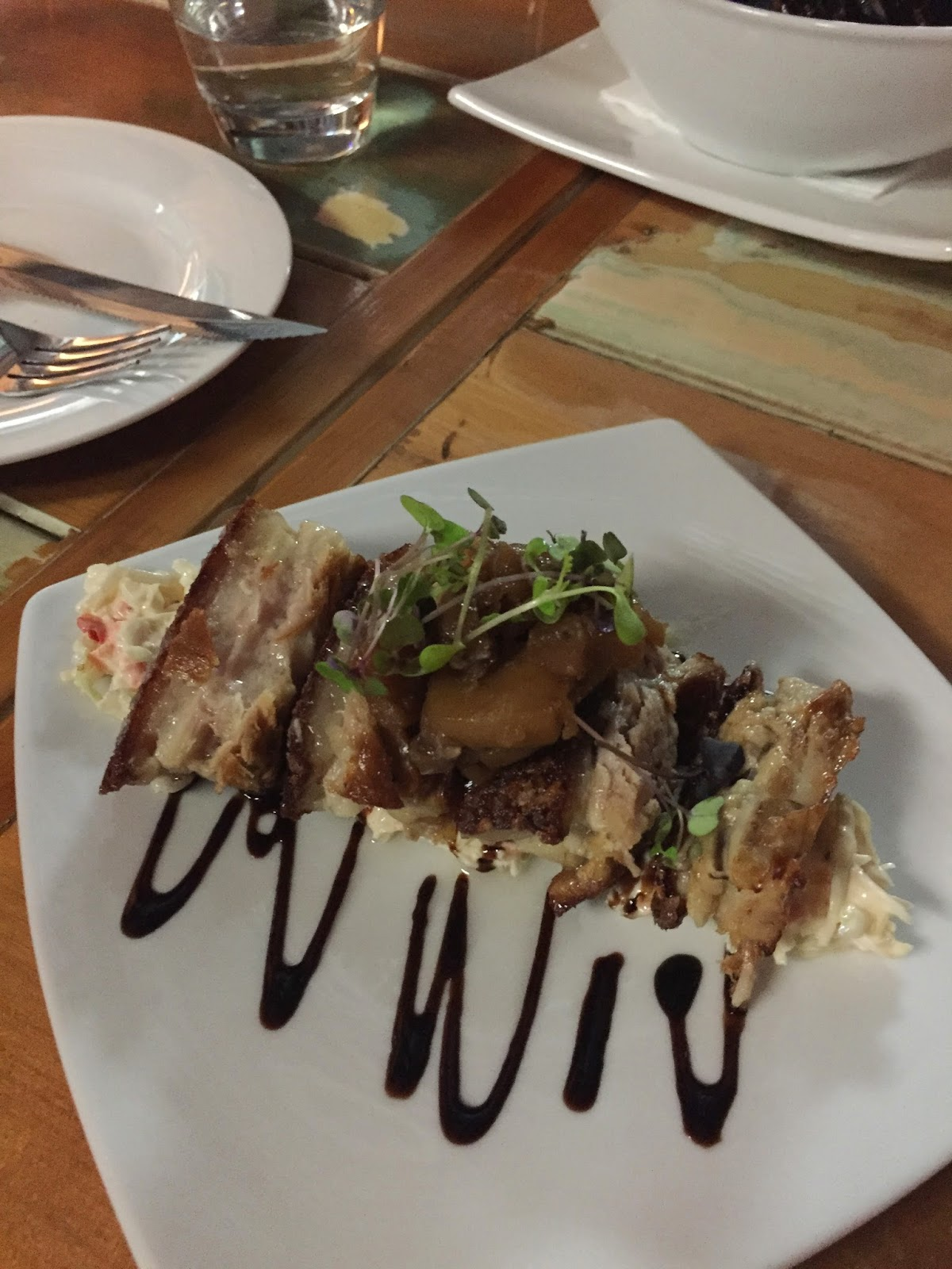 Pork Belly Porterhouse Cassie Cakes