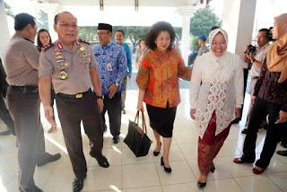 Menkes bersama Kapolda Jatim dan Walikota Surabaya