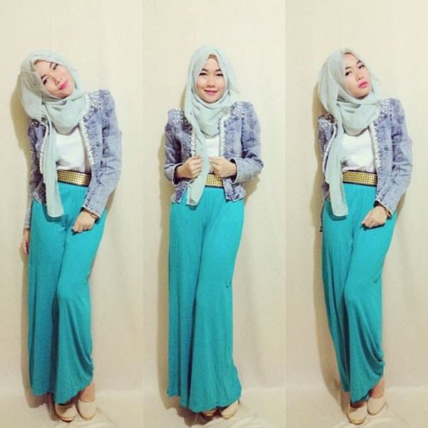 outfit of the day hijab mu, dan siap-siap menjadi Seleb Instgram