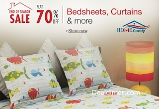 Bedsheets 50% off to 75% off
