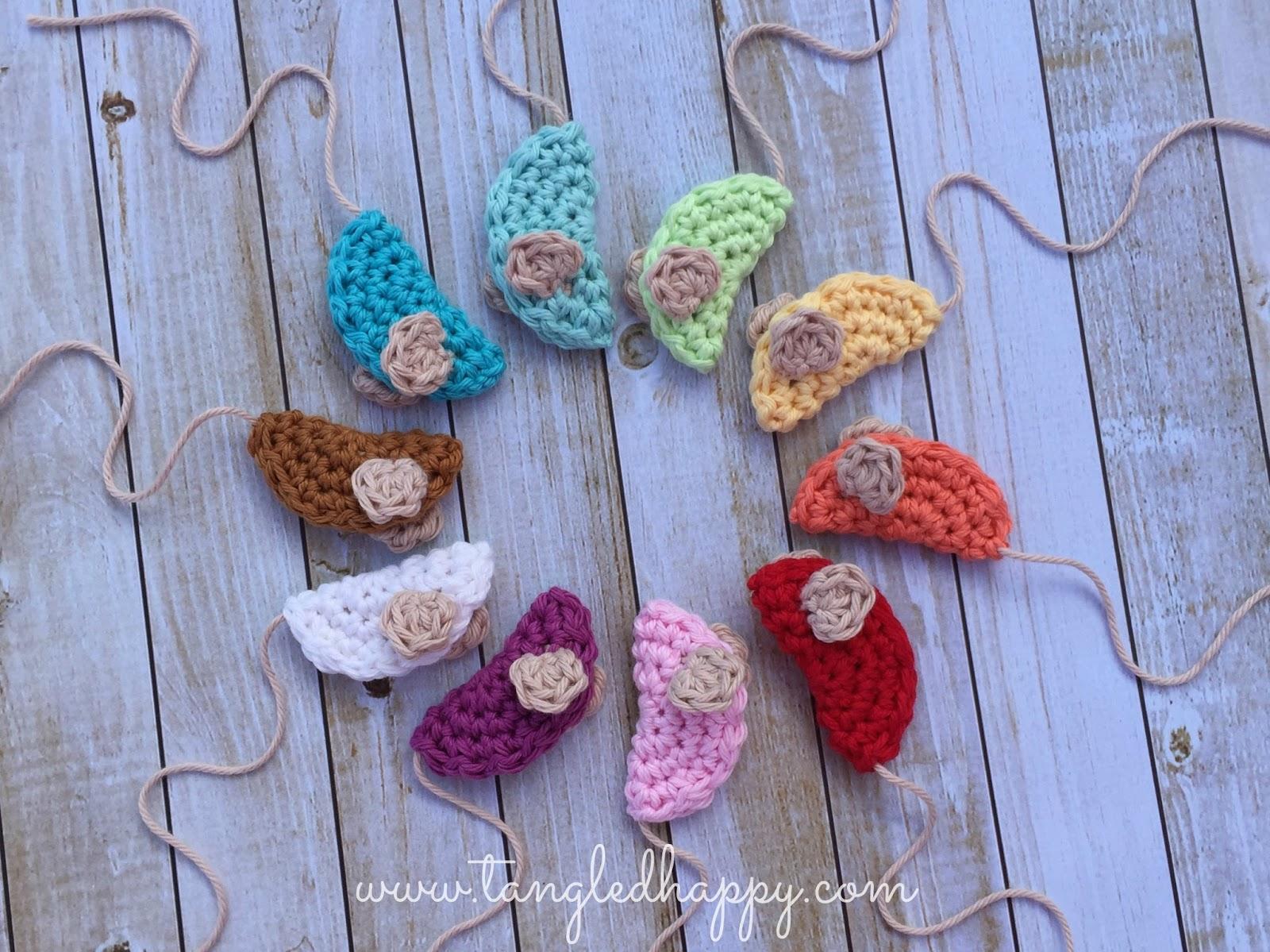 tangled happy crochet mouse diy cat toy free crochet pattern