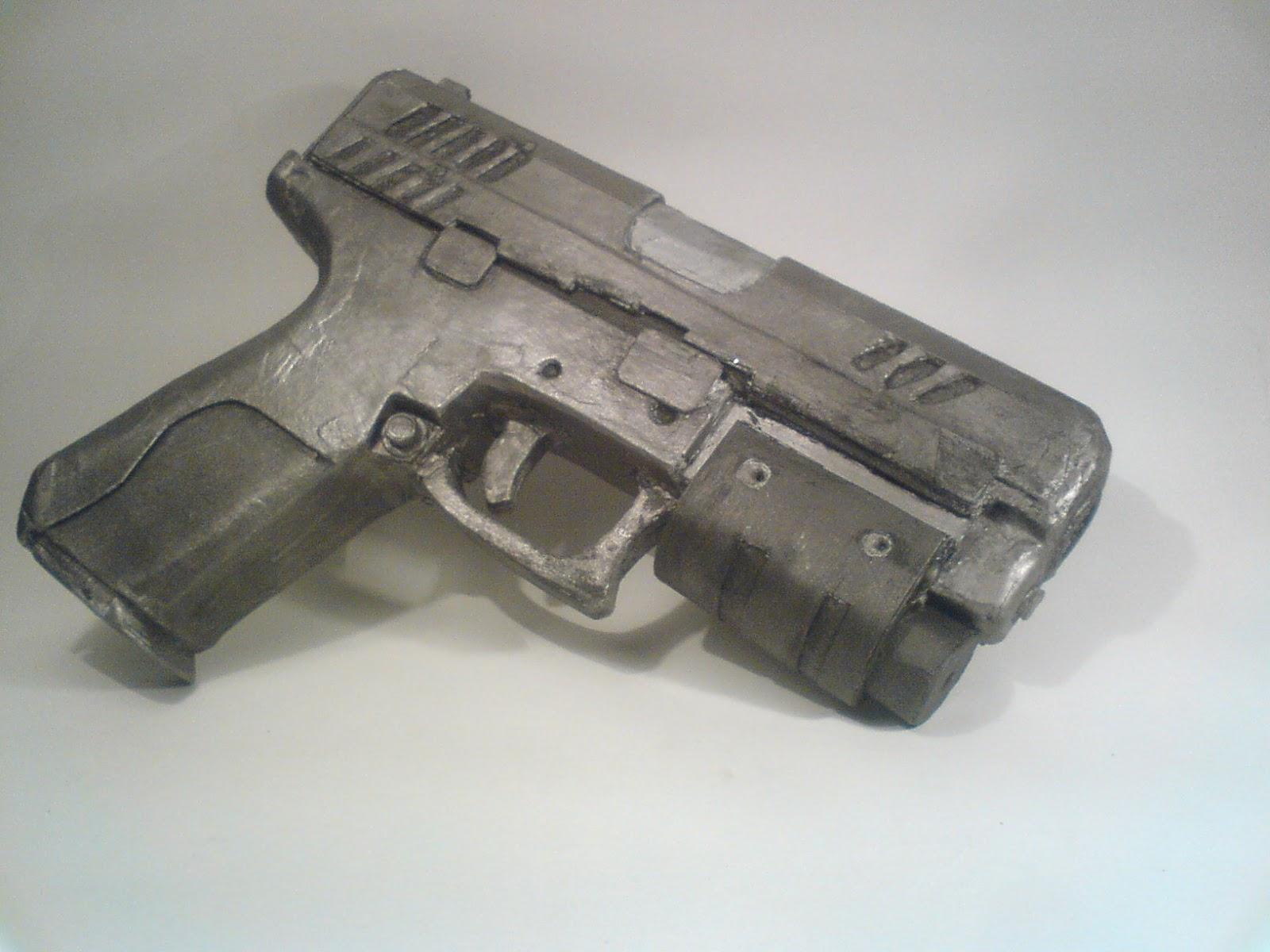 Pistola Blacktail - Resident Evil DSC04516