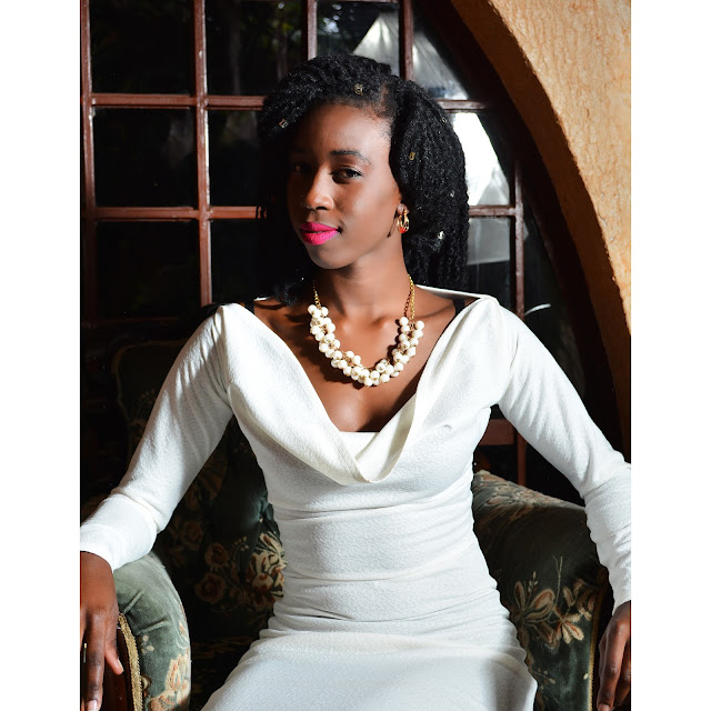style with ezil, ezil boutique, what to wear to lunch with the girls, african fashion blogger, kenyan fashion blogger, Ezil, all white, elegant white dress, classy white dress, how to accessorize a white dress,