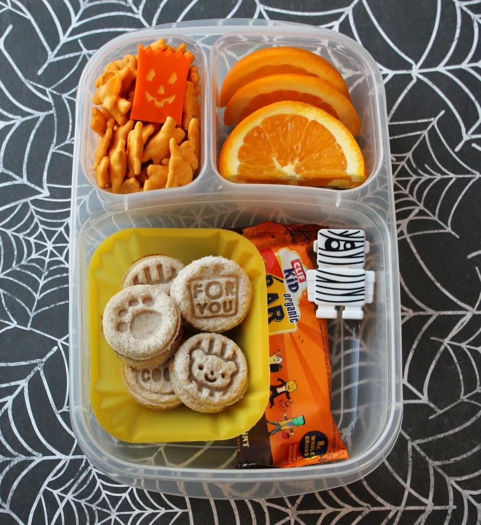 Halloween School Lunch Easylunchboxes - mamabelly.com