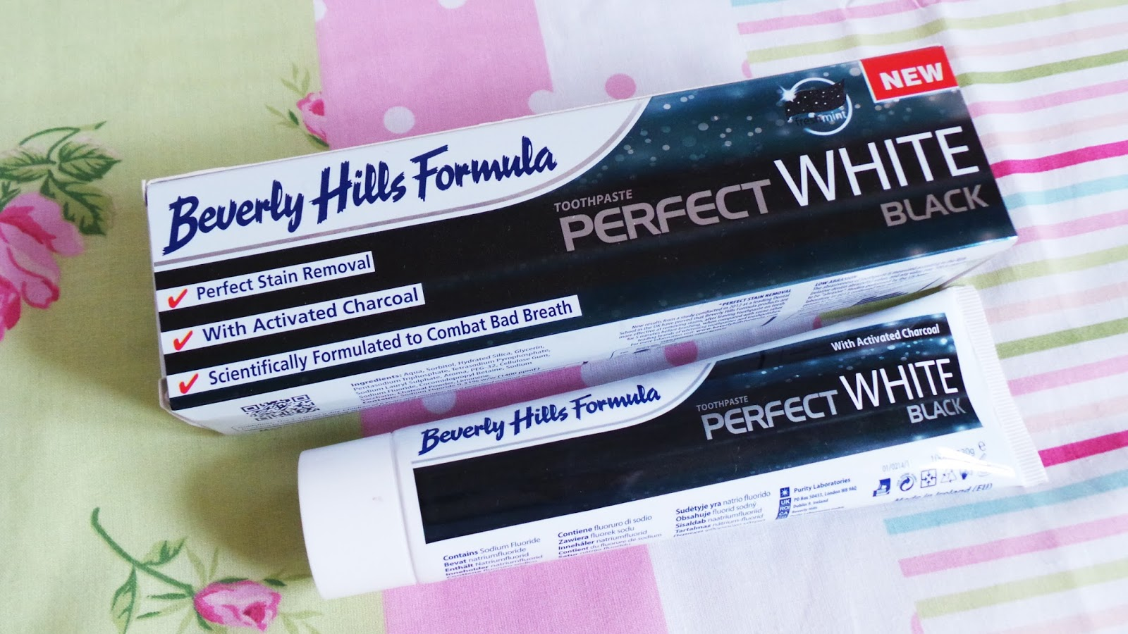 Beverly Hills Formula Perfect White, Black Anti-Ageing Toothpaste Review