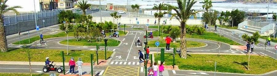 Educación Vial en Vícar.  Parque Infantil de Tráfico