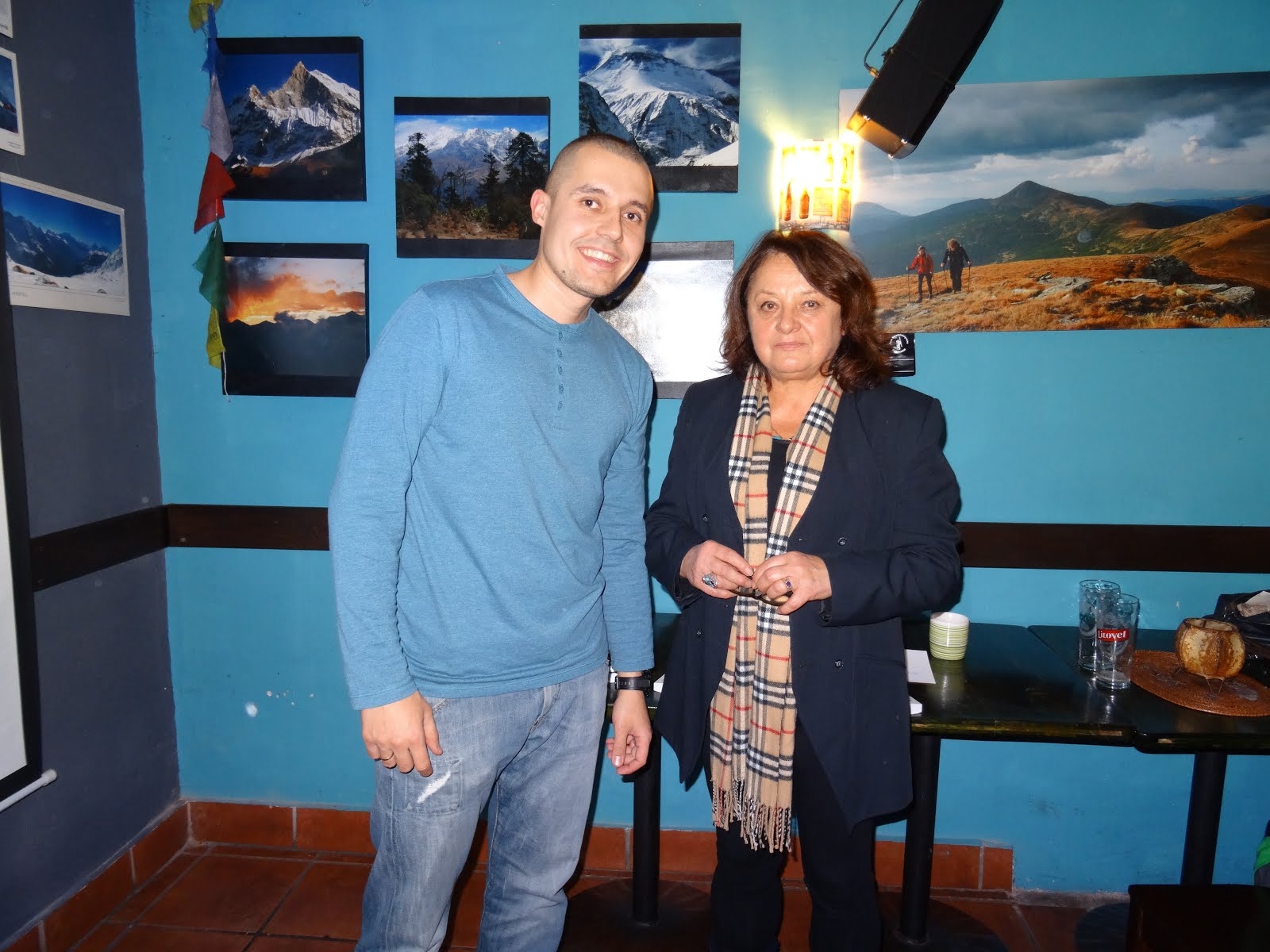 Spotkanie z Cecylią żoną Jerzego Kukuczki
