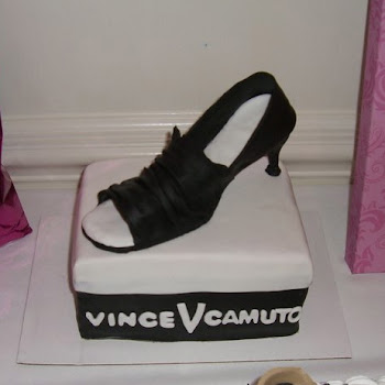 Bridal Shower Shoe Cake