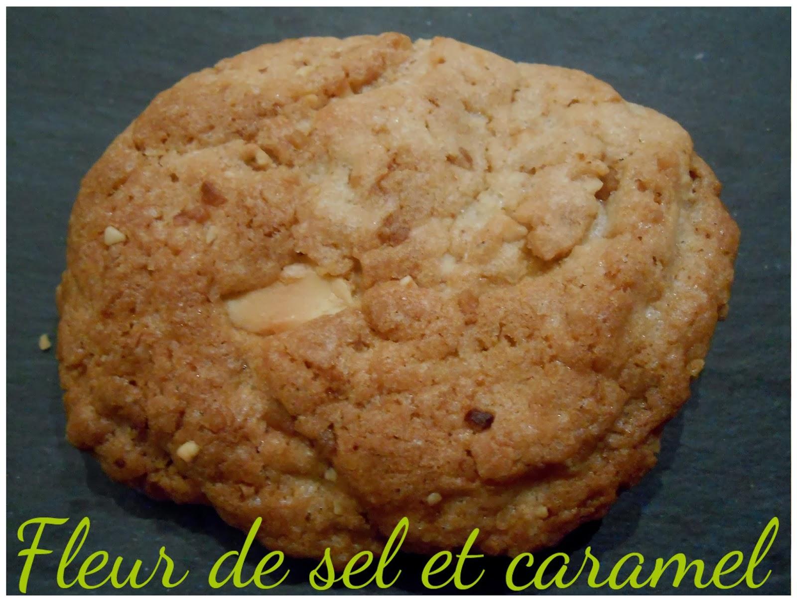 Cookies au chocolat blanc et pralin