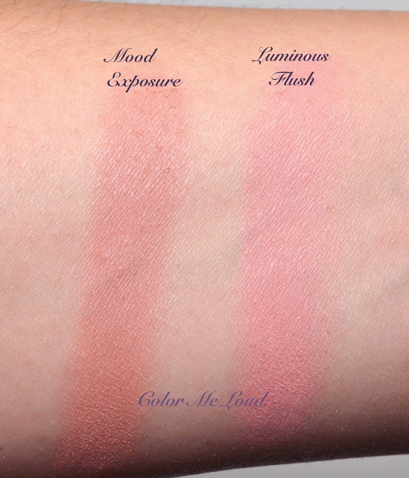 Exceptional Swatches: Hourglass Ambient Lighting Blush Luminous Flush U0026 Mood Exposure Nice Ideas