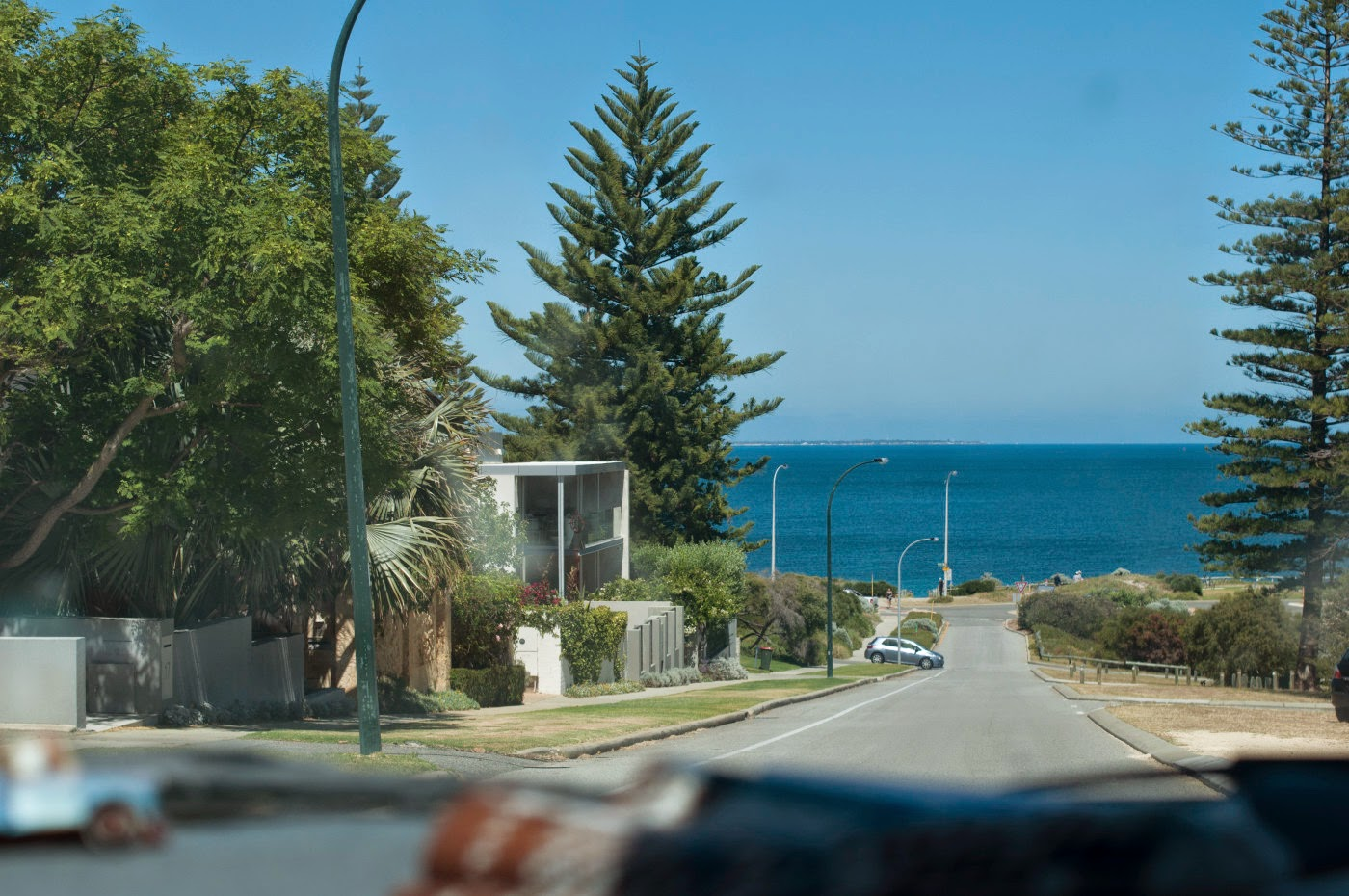 Photographic art, Tim Macauley, out a window, Cottesloe, perth, Australia, car, travel, photography, beach, Australia, Australiana, the light monkey collective, you won't see this at MoMA, candid, snapshot.