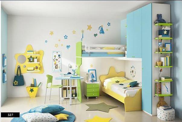 Ide untuk Kamar Mandi Anak Warna Warni 2015 yg fungsional
