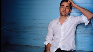 Robert Pattinson shot from Dior campaign