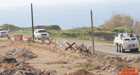 Panser Anoa Kawal Komandan UNIFIL di Lebanon