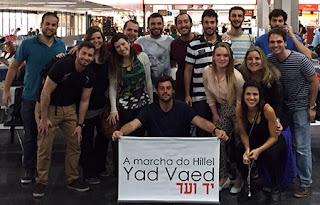 Grupos Taglit Hillel Rio e Yad Vaed embarcam para muitas emoções