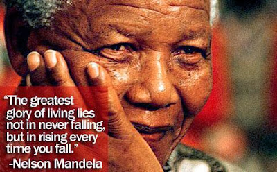 nelson mandela died at 95