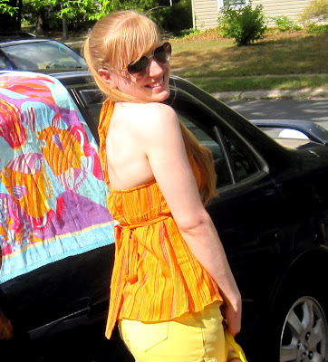 IMG yellow+tank+top - Sunrise Surprise Halter Tank Is On Sale!
