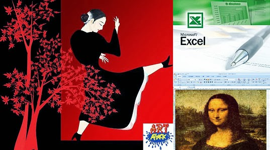 Excel Art Attack