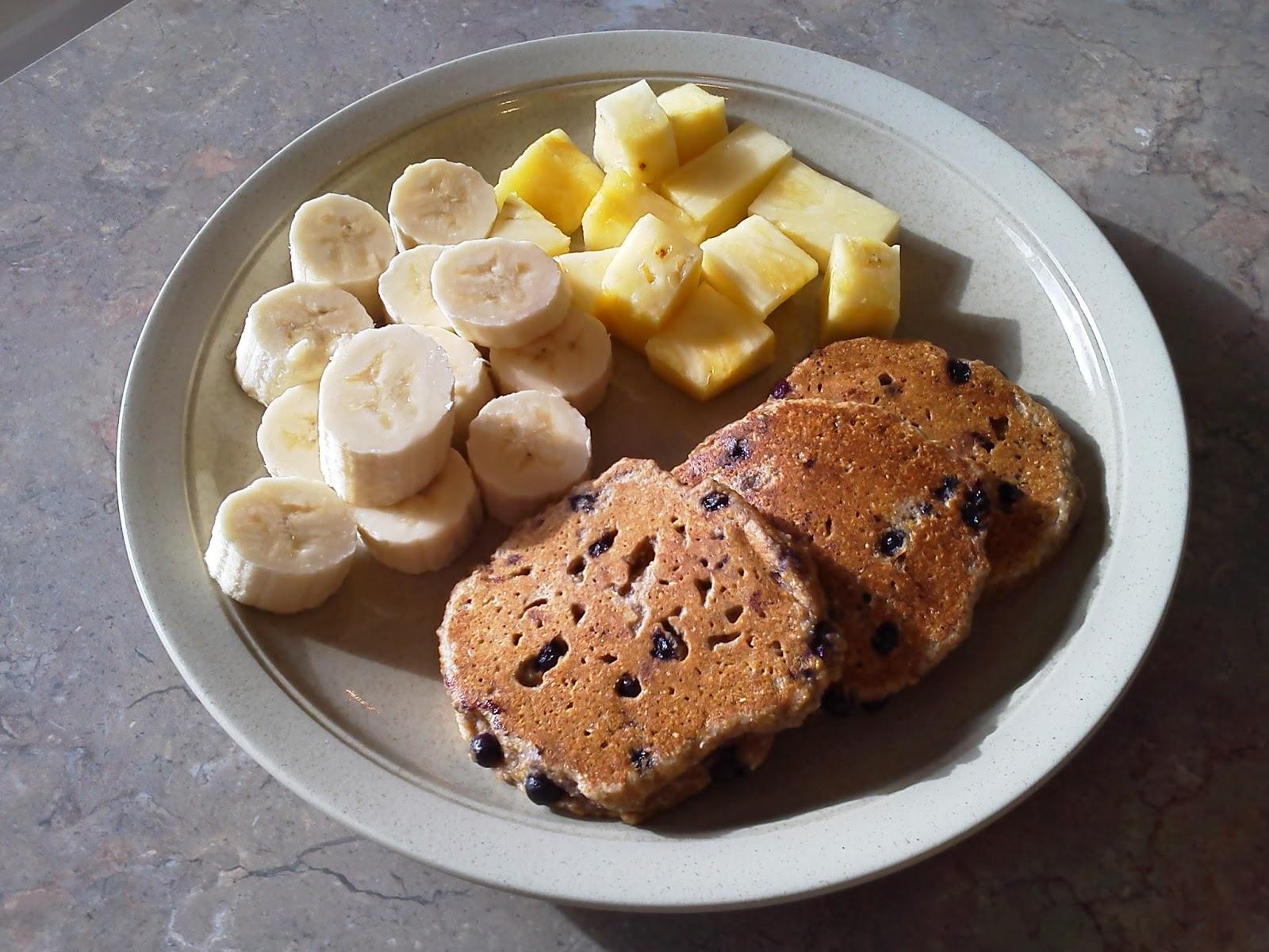 Pocono Pabulum for Mind & Body: Maple Blueberry Corn Cakes (Vegan)