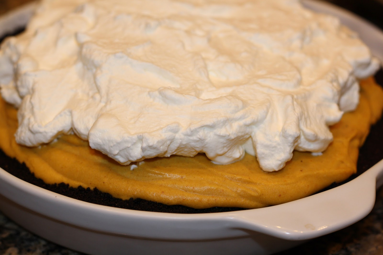 sunday sweets: icebox pumpkin-mousse pie