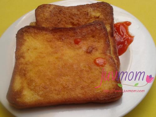 Resep Sarapan Roti Goreng Telur