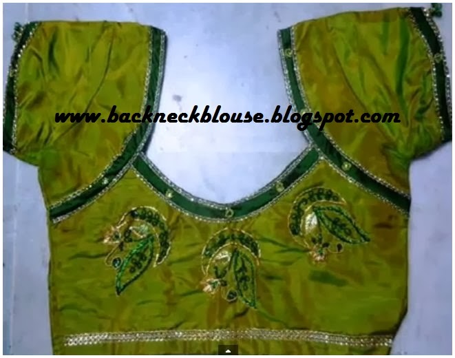 latest designer blouse