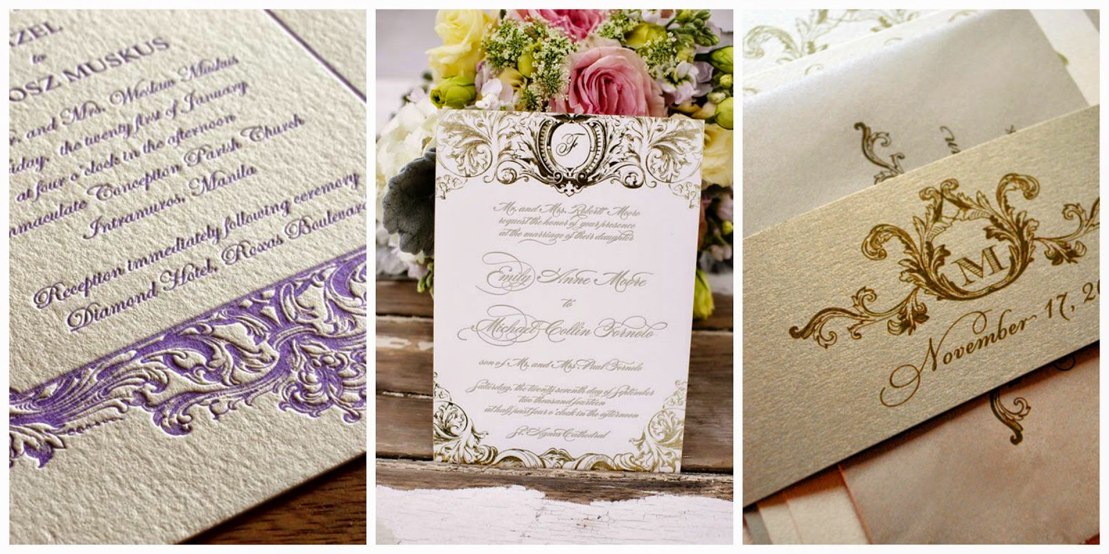 invitacion de boda barroca blog bodas mi boda gratis