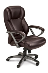 Mayline Ultimo Series Leather Office Chair UL350H