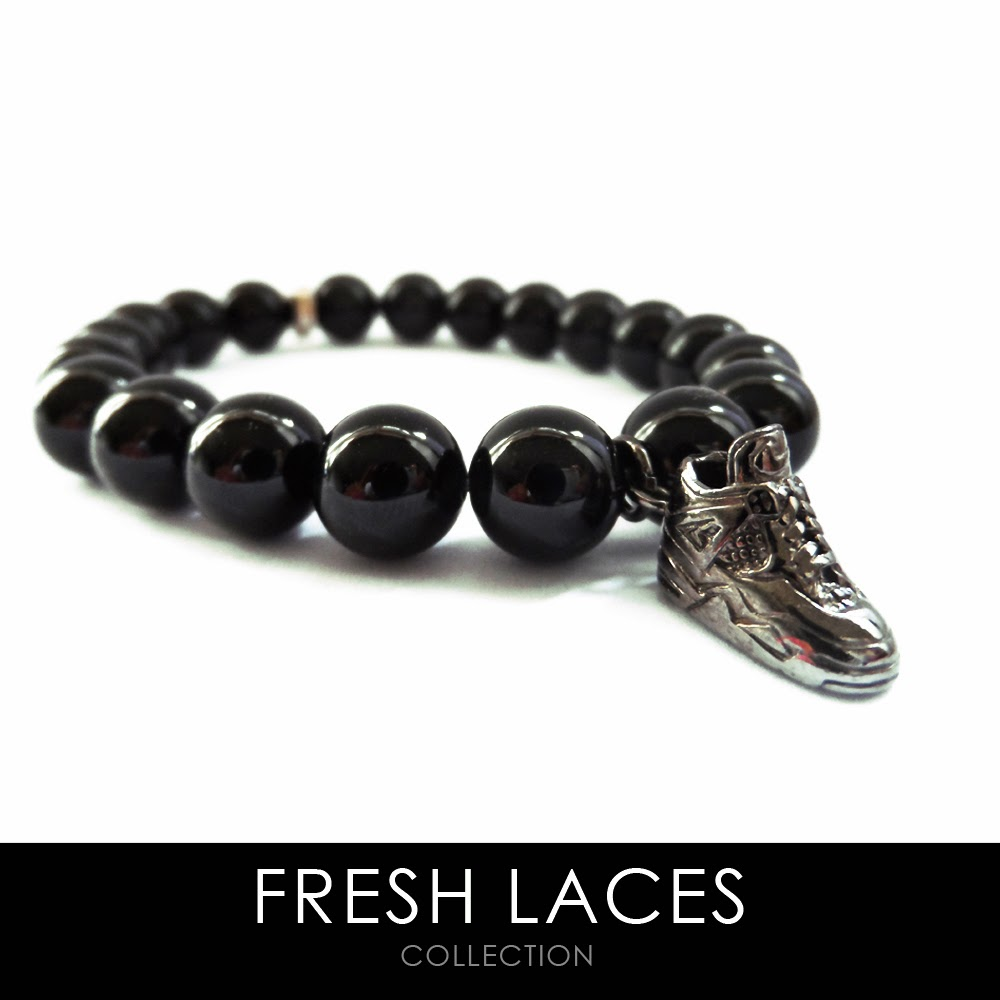 Elisha Francis, Fresh Laces, Harvey Nichols, Sneaker Charm, Men's Jewelry, Sneakerheads