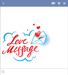 Love Message Emoticon