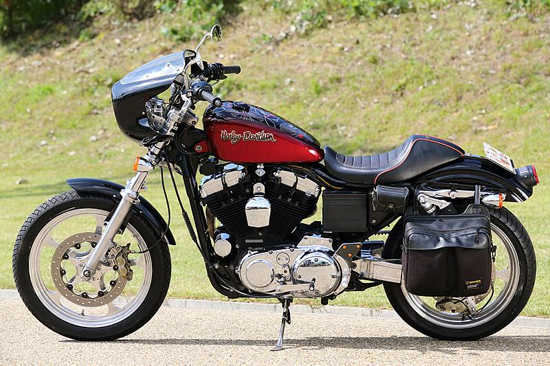 Racing Caf U00e8  Harley Xl 1200 C 2002 Sportster Special