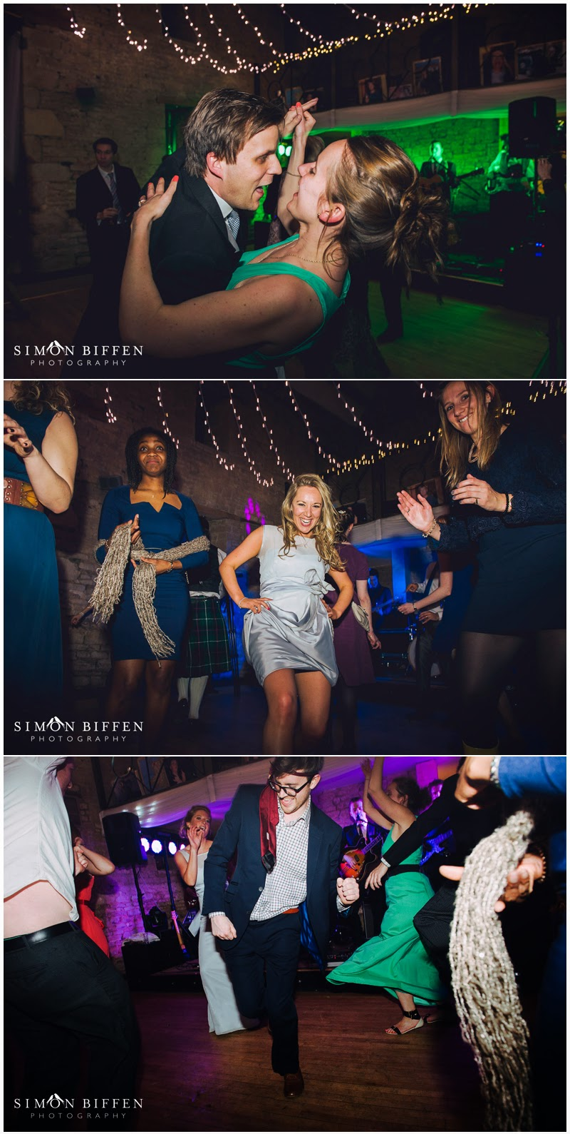 Dancing at a Great Tythe Barn wedding