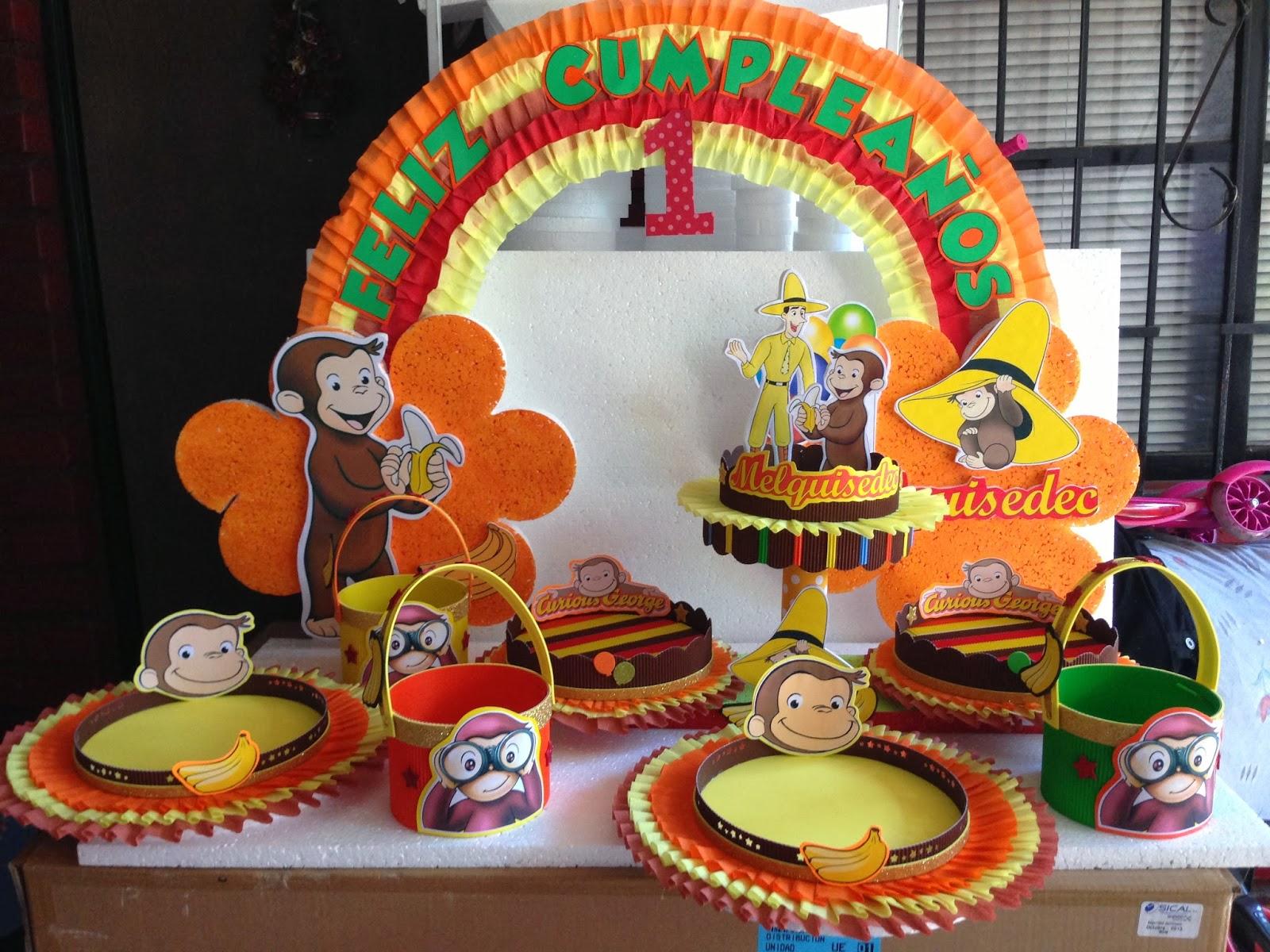 Decoraciones infantiles jorge el curioso for Decoraciones infantiles