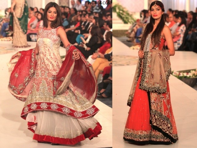 Bridal Couture Week Mehndi Dresses : Bridal couture week in karachi news gloriouslive