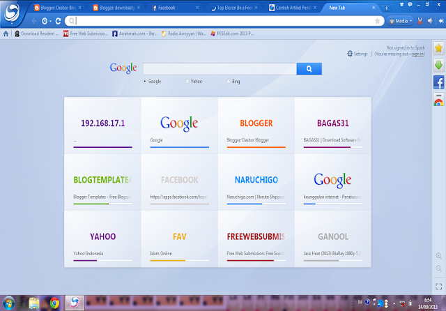 سبارك أفضل و أسرع متصفح Spark Browser