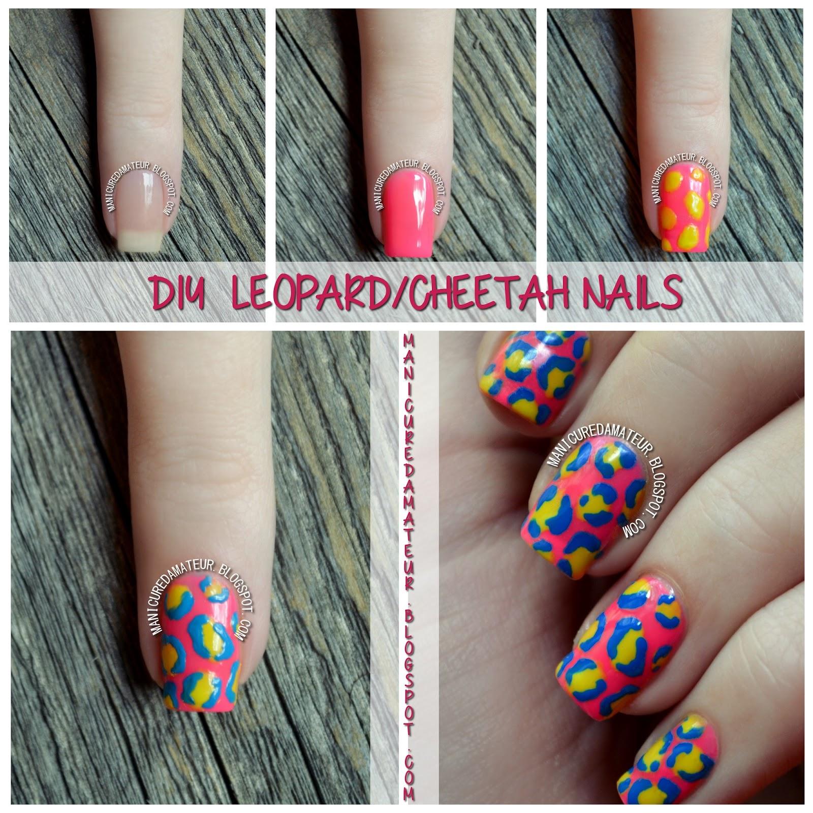 Diy Snow Leopard Nail Art: The Manicured Amateur: L.A. Girl DIY Nail Art Review Part