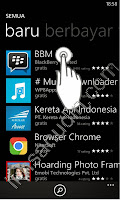install bbm di Windows Phone