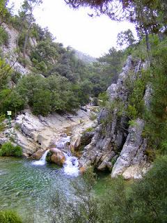 wild swimming, Rio Borosa, Cazorla