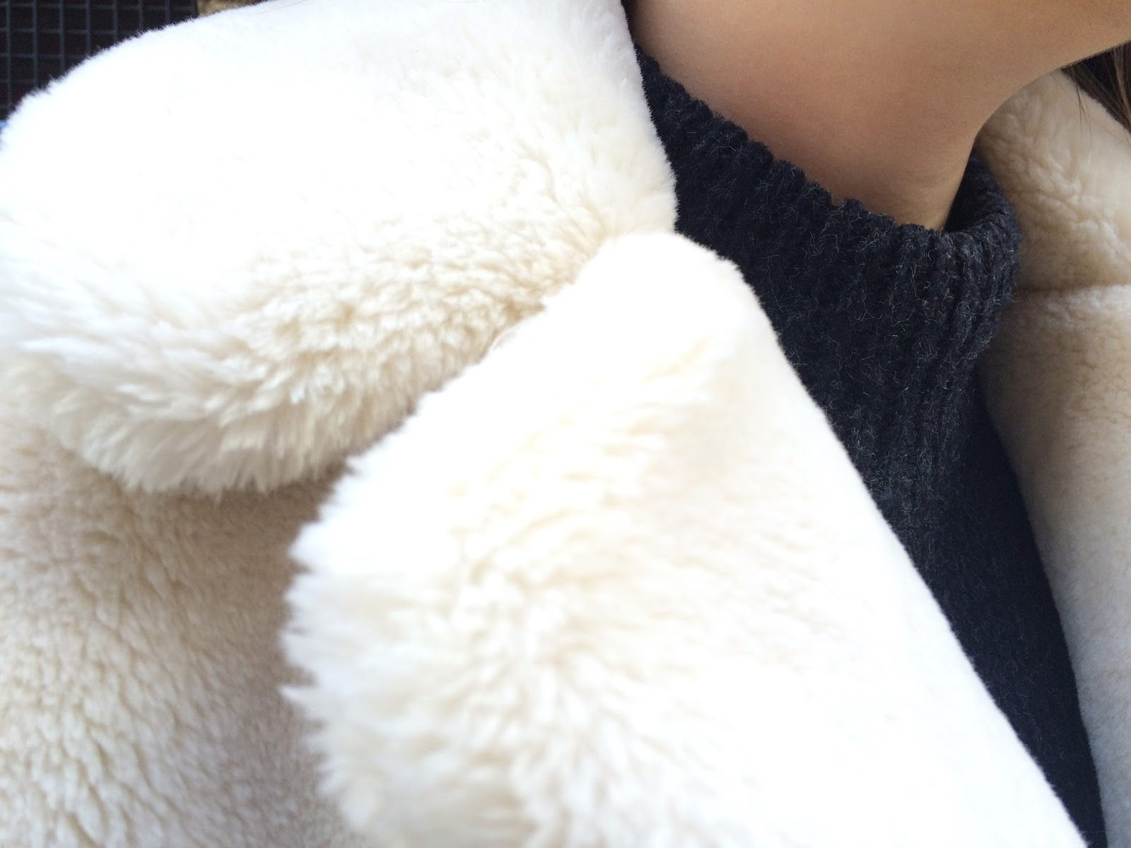 White Faux Fur Coat | Girl from North London