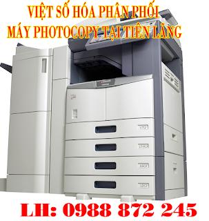 ban may photocopy tien lang