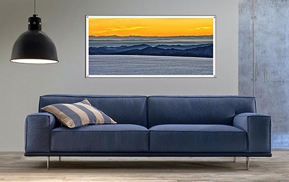 Arredo e design come scegliere il quadro giusto - Altezza quadri sopra divano ...