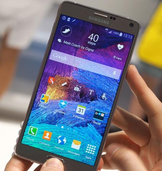 Cara mengambil screenshot dengan Samsung Galaxy S6 atau S6 Edge