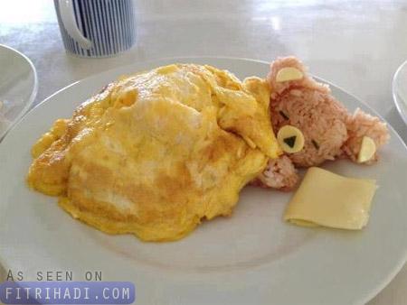 makanan comel tarik tambah selera anak