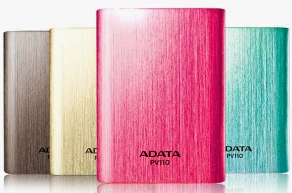 ADATA Launched Dual-Charging PV110 10400mAh Power Bank